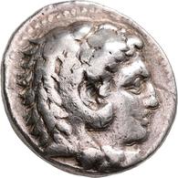 Makedonien - Könige: Alexander III., Der Große 336-323 V. Chr.: AR-Tetradrachme, 17,06 G. Kopf Löwen - Greche