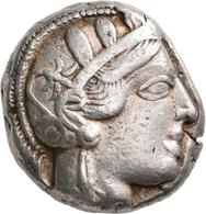 Attika: Lot 2 Stück; AR-Tetradrachme, Ca. 479-404 V. Chr., Athen, Je 17,1 G. Athenakopf Nach Rechts/ - Greche