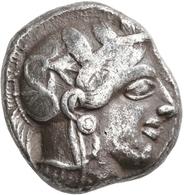 Attika: AR-Tetradrachme, Ca. 479-404 V. Chr., Athen, 16,74 G. Athenakopf Nach Rechts/Eule. Sehr Schö - Greche