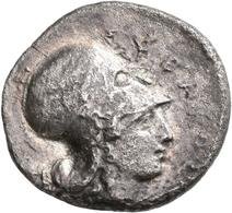 Korinth: AR-Stater, Ca. 375-300 V. Chr., 7,5 G, Sehr Schön. - Greche