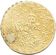 Islamische Münzen: Lot 3 Islamische Kleingold-Münzen, Unbestimmt Und Ungeprüft, Gelocht Bzw. Gestopf - Islamiche