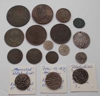 Islamische Münzen: Persien, Lot 17 Nicht Näher Bestimmter Münzen, Teils Silber. - Islamiche