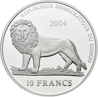 Kongo, DR / Zaire - Anlagegold: 20 Francs 2004 Motiv Ferrari. KM# 144. 1,24g (1/25 OZ) 999/1000 Gold - Congo (Democratische Republiek 1964-70)