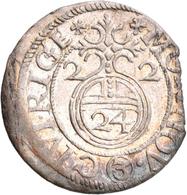 Lettland: Riga, Gustav II. Adolf 1621-1632: Lot 8 X 1/24 Taler (Dreipölker) 1622-1624. Meist Sehr Sc - Lettonie