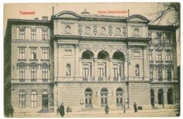RO 75 - 105 TIMISOARA, Romania, Theater Joseph Ferencz - Old Postcard - Used - 1910 - Romania