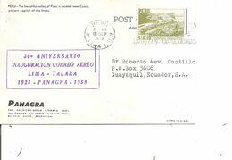 Pérou ( CP De 1958 De Lima Vers L'Equateur à Voir) - Peru