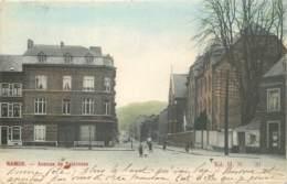 Belgique - Namur - Salzinnes - Avenue De Salzinnes Et Place Wiertz - Couleurs - Namur