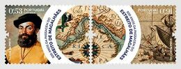 Portugal 2020 Set 2 V MNH 500th Ann Of The Navigation Of The Strait Of Magellan Explorer - Explorers