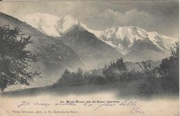 74 SAINT GERVAIS LES BAINS LE FAYET VUE DU MONT BLANC  VALLEE DE CHAMONIX MONT BLANC Editeur NAMA ALLANTAZ 7 - Saint-Gervais-les-Bains