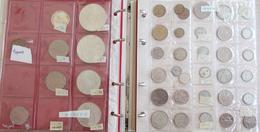 Alle Welt: Nachlass: Ein Album Sowie Ein Paar Lose Münzen Aus Aller Welt, überwiegend 20 Jhd., Dabei - Monete