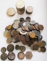 Alle Welt: Ein Stück Zeitgeschichte: Handvoll Alter Münzen, überwiegend Ende 19. Und Anfang 20. Jhd. - Monete