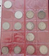 Alle Welt: Kleiner Münzposten Mit über 50 Münzen, Dabei Auch 2 Und 5 RM Hindenburg. - Monete