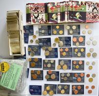 Alle Welt: Sammlungsrest - Circa 60 Porzellan Notgeld-Münzen Aus Boldixum, Amberg, Freiberg, Gotha, - Monete