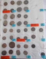Luxemburg: Ein Album Voll Mit Münzen Nach Nominalen Und Jahrgängen Sortiert, Ab Ca. 1900, überwiegen - Lussemburgo