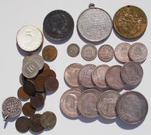 Deutsches Kaiserreich: Kleines Lot Diverser Münzen, überwiegend Kaiserreich, Dabei Auch Ein Paar Med - [ 2] 1871-1918: Deutsches Kaiserreich