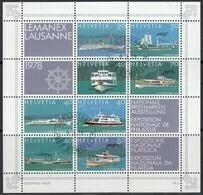SCHWEIZ, Block 23, Gestempelt, LEMANEX 1978 - Blocks & Sheetlets & Panes