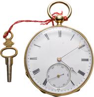Uhren: Sehr Gut Erhaltene Herren Taschenuhr Um 1850 Aus Frankreich (Froidevaus). F:A: ZETTER 50 LEUR - Jewels & Clocks