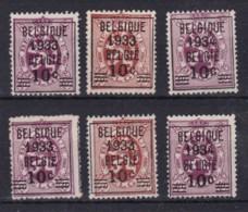 Belgie Gest YT° 375A-376 - Gebruikt