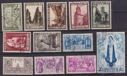 Belgie Gest YT° 363-374 - Used Stamps