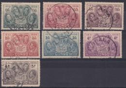 Belgich Congo YT° 185-191 - 1923-44: Used
