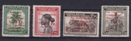 Belgich Congo YT° 270-273 - 1923-44: Gebraucht