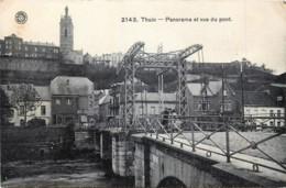 Belgique - Thuin - Panorama Et Vue Du Pont - Thuin