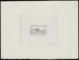 FRANCE Epreuves  1128 Epreuve D'artiste En Noir 1° état, Signée: Château De Valençay. - Prueba De Artistas