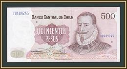 Chile 500 Pesos 1987 P-153 (153b.7) UNC - Cile