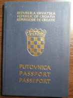 Passport Of Croatia Expired No Visas - Documentos Históricos