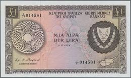Cyprus / Zypern: 1 Pound 1974 P. 43b In UNC Condition. - Cyprus