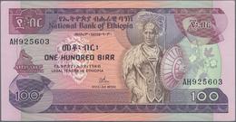 Ethiopia / Äthiopien: National Bank Of Ethiopia 100 Birr 1976, P.34a, Still Great Original Shape Wit - Ethiopië