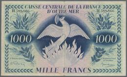 French Equatorial Africa / Französisch-Äquatorialafrika: Caisse Centrale De La France D'Outre-Mer 10 - Equatoriaal-Guinea