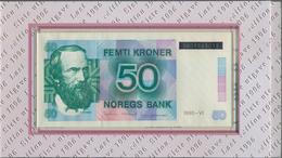 Norway / Norwegen: Nice Set With Two Original Folders Of The Norges Bank, One With The Last Issue Of - Noorwegen