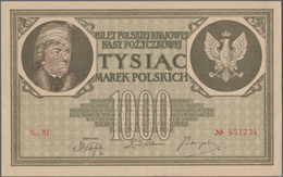 Poland / Polen: 1000 Marek 1919, P.22 In XF+/aUNC Condition - Poland