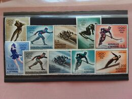 SAN MARINO 1955 - Olimpiadi Cortina P.O. + P.A. Completa Nuova ** + Spese Postali - San Marino