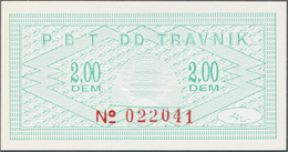Bosnia & Herzegovina / Bosnien & Herzegovina: 1992/2000 (ca.), Travnik-Bons, Quantity Lot With 605 P - Bosnia And Herzegovina