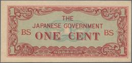 Burma / Myanmar / Birma: 1942, Ex Pick 9-14, Quantity Lot With 389 Banknotes In Good To Mixed Qualit - Myanmar