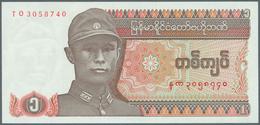 Burma / Myanmar / Birma: 1990/2004 (ca.), Ex Pick 67-78, Quantity Lot With 582 Banknotes In Good To - Myanmar