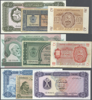 Libya / Libyen: Large Lot About 290 Notes Containing The Following Pick Numbers In Different Quantit - Libya