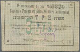 Ukraina / Ukraine: Album With 44 Banknotes Of The Ukraine & Crimea Area, Comprising For The City Of - Oekraïne