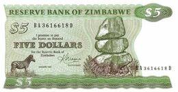 ZIMBABWE  P. 2c 5 D 1983 UNC - Zimbabwe