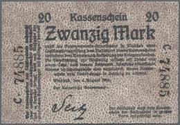 """Deutschland - Kolonien: Deutsch-Südwestafrika, Kassenschein Des Kaiserlichen Gouverneurs, Sog. """"Seit - [12] Kolonies & Buitenlandse Banken"""