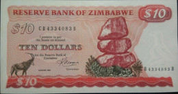 ZIMBABWE  P. 3d 10 D 1994 UNC - Zimbabwe