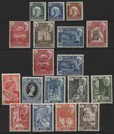 Aden (05) Hadhramaut. 16 Values. Mint & Used - Aden (1854-1963)
