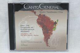 "CD ""Canto General"" Chor- Und Tanzprojekt Der Gutenbergschule Wiesbaden - Musique & Instruments"