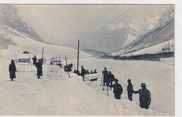 Sernftal - Bahnlinie Wird Von Einer Lawine Frei Gemacht - Fot.Jeanrenaud, Glarus - 1909       (00904) - GL Glaris