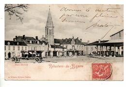 65 - RABASTENS-DE-BIGORRE . PLACE CENTRALE - Réf. N°10277 Bis - - Rabastens De Bigorre