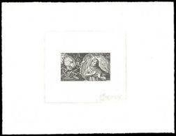 MONACO Epreuves  684 Epreuve D'artiste En Noir, Signée: Dante, Virgile, Panthère. - Otros