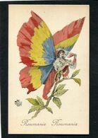 CPA - Illustration - Surréalisme - Femme Papillon - ROUMANIE - ROUMANIA - Guerra 1914-18
