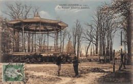 SAINT QUENTIN En 1921 - Le Kiosque - Très Bon état - Other Municipalities